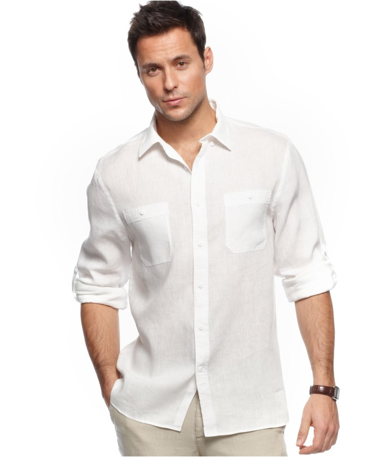 17 best images about men 39 s linen on pinterest long for Linen long sleeve shirt