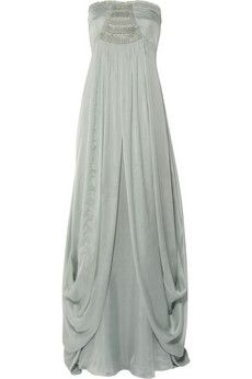Temperley London - Long Mirage embellished silk gown