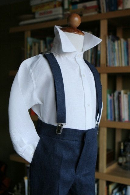 Navy and pink Ring Bearer special occasion by finehandmadeclothing, $200.00