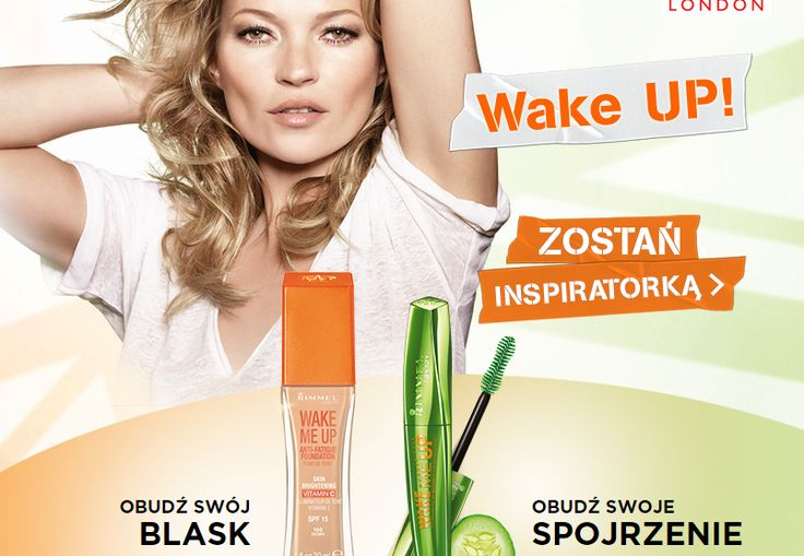 dołącz do inspiratorek Rimmel Wakeme UP  https://www.fabtest.pl/