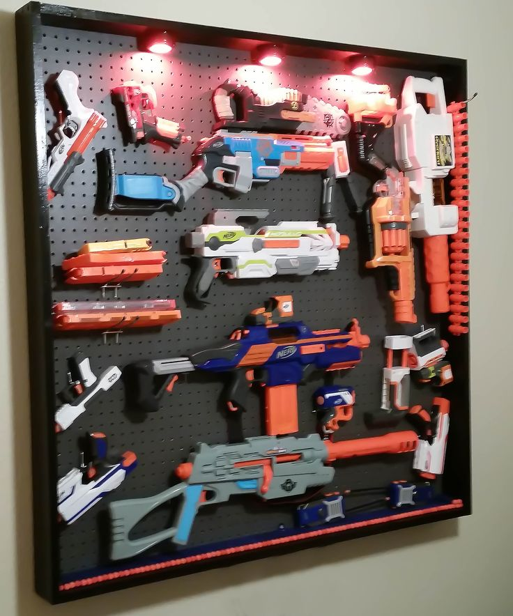 Pin On NERF WALL
