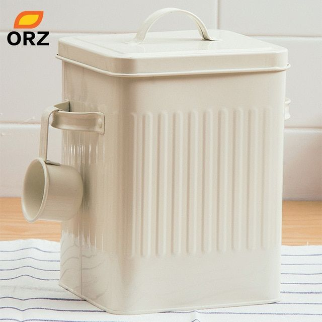 Orz Kitchen Bathroom Storage Organizer Box 10l Grain Rice Storage Container Laund Bathroom Storage Organization Cheap Storage Containers Rice Container Storage