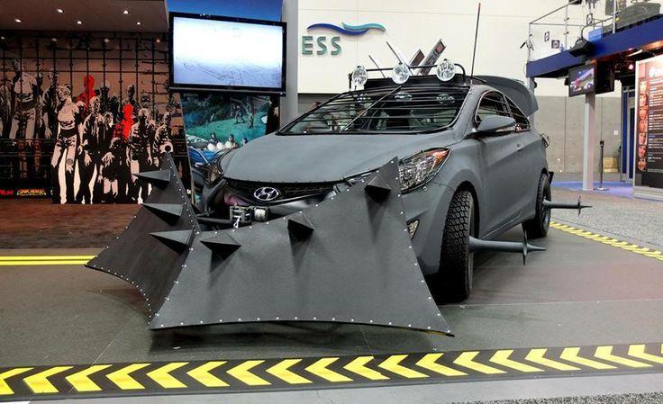Hyundai Elantra Coupe Zombie Survival Edition #TheWalkingDead