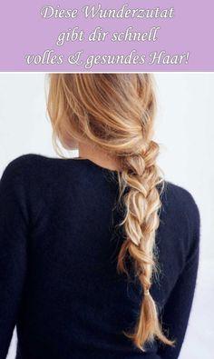 Schneller langes, volles Haar mit Zwiebeln