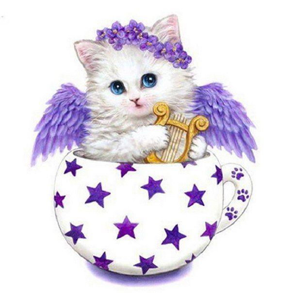 #hobby Алмазная вышивка котёнок Где купить: http://ali.pub/c36rq