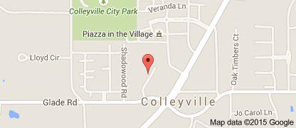 Map of #Walmart #Neighborhood #Market #Colleyville #TX #Clairemont