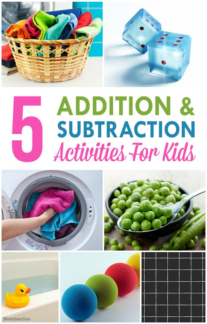 Top 10 Addition & Subtraction Activities For Your Kids: Check out our compilation of some addition and subtraction activities for kids below!