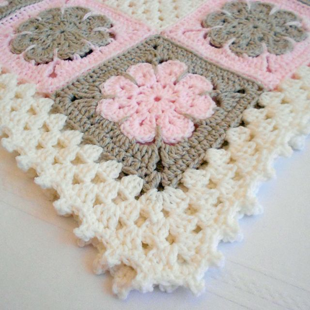 Ravelry: Easton Baby Afghan Pattern by Mary Robinson