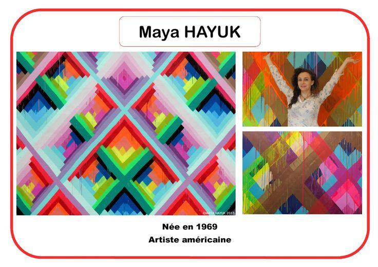 Maya Hayuk - Portrait d'artiste