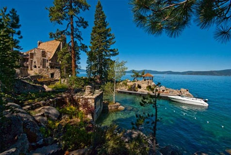 Thunderbird Lodge on Lake Tahoe - a former residence now open for tours