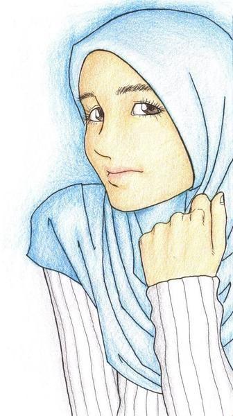 Kartun Cewek Cantik Berjilbab Hd Wallpaper Gallery Picture Kartun