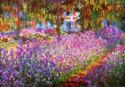 The Arts Garden at Giverny, 1900 - Claude Monet
