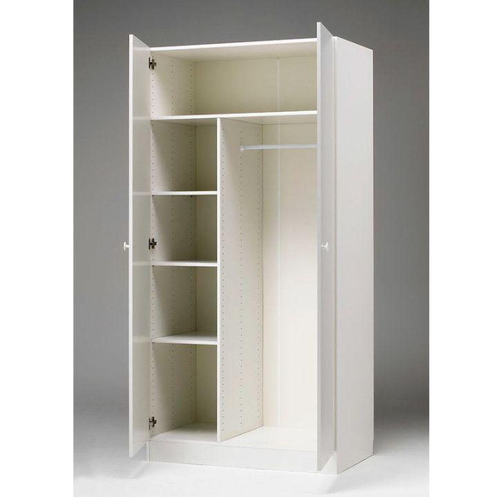 Berömda Garderob marbodal funka 100 cm | Elviras rum❤️ | Locker storage WB-01