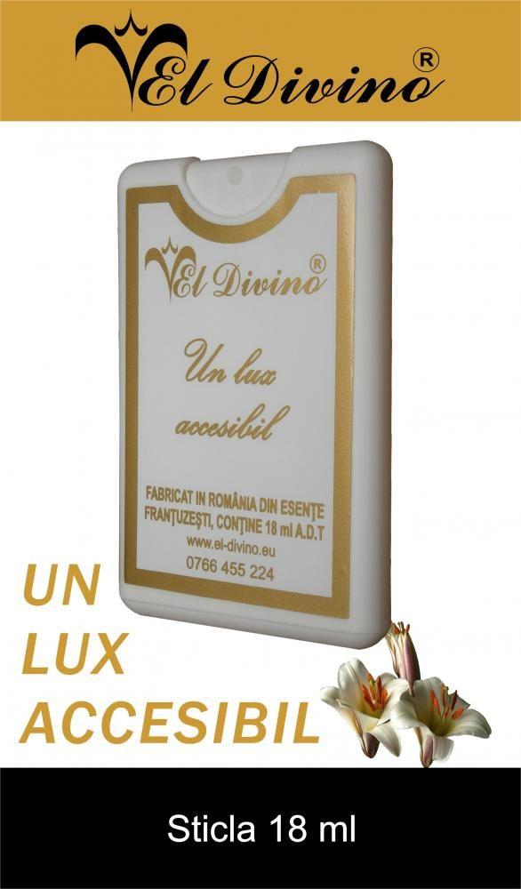 Bottles and Perfume testers. Sticla 18 ml Parfumuri si Produse cosmetice EL Divino Romania