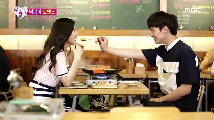 Sungjae and Joy have their first street date on 'We Got Married' | http://www.allkpop.com/article/2015/07/sungjae-and-joy-have-their-first-street-date-on-we-got-married