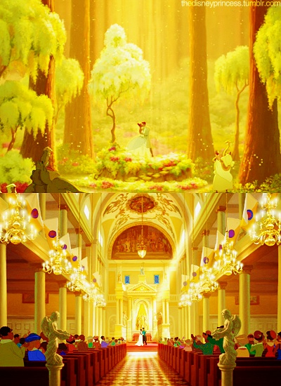 46 best Princess and the Frog wedding theme plans images on ...