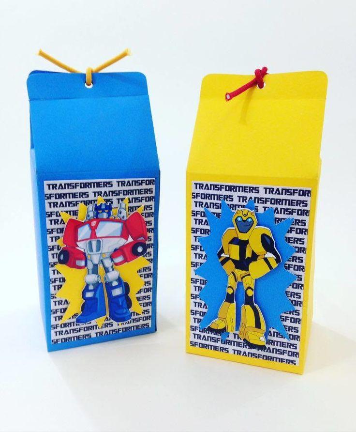 Caixinha Milk Transformers Bot Shots    Pedido Mínimo: 10 unidades  * Não Acompanha Doces  Tempo de Produção: 7 dias úteis após a confirmação de pagamento  Tamanho da Caixinha: aprox 6 x 6 x 14 alt  Papel 180 g  Você pode escolher a caixinha que deseja é só especificar nas observações, caso contr...