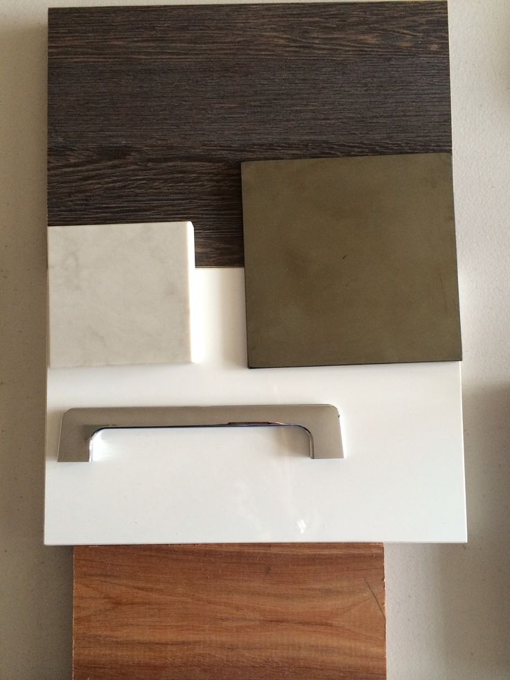 Our kitchen pallet - Caesarstone London grey, Spotted Gum floors, Smoked Mirror Splash, Albedor Ultra Finish Classic White (lower cabinets) & Mali (upper cabinets). Same handles but in brushed stainless steel rather than chrome.