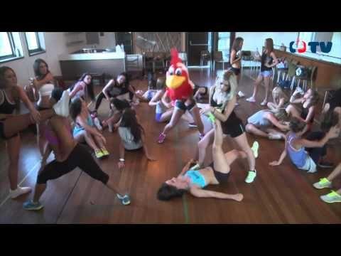 Harlem Shake - Sydney Roosters Cheerleaders