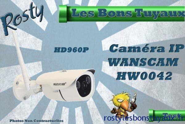 Présentation De La Caméra IP Wanscam HW0042 HD960P et POE à 63  Bonjour  Vu le succès de la Wanscam HW0043 lors de cet article de présentation jai commandé et reçu sa grande sœurla HW0042et par la même occasion jai réussi à vous dégoter uncode promo exclusif qui permet de lobtenir à 63.59 au lieu de 70.78ça place le prix en dessous des 64pour cette caméraqui reprend toutes les meilleures caractéristiques de la HW0043 en y ajoutant quelques plus non négligeable.  En effet sur ce modèle la…