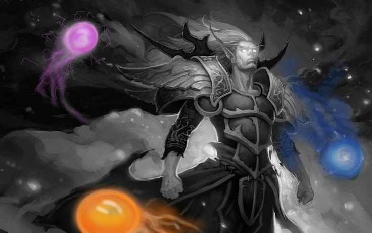Amazing invoker wallpaper by Redbearon