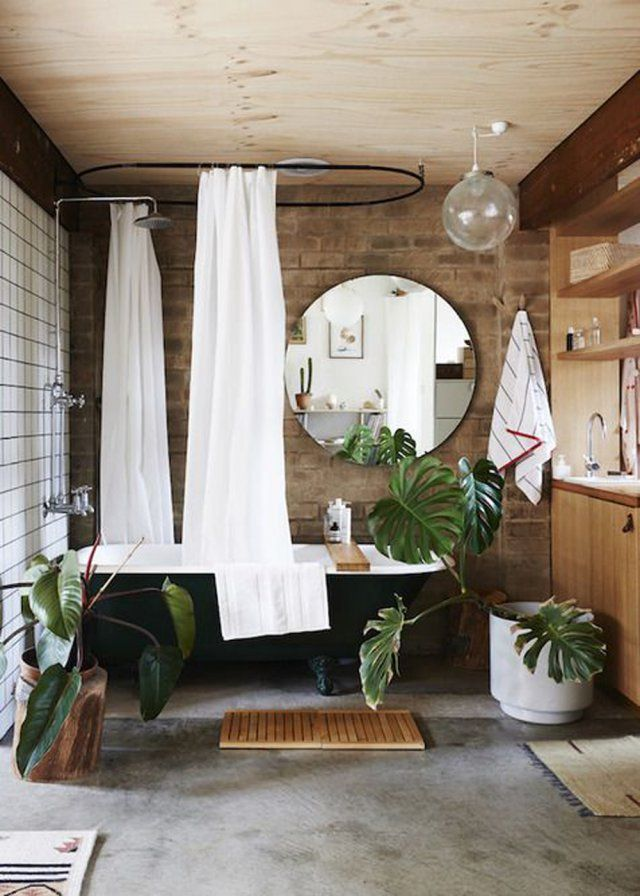 Une déco kinfolk pour la salle de bains - Marie Claire Maison