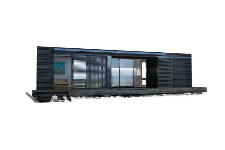 49 best modern home modular prefab images on pinterest for Prefab granny unit california