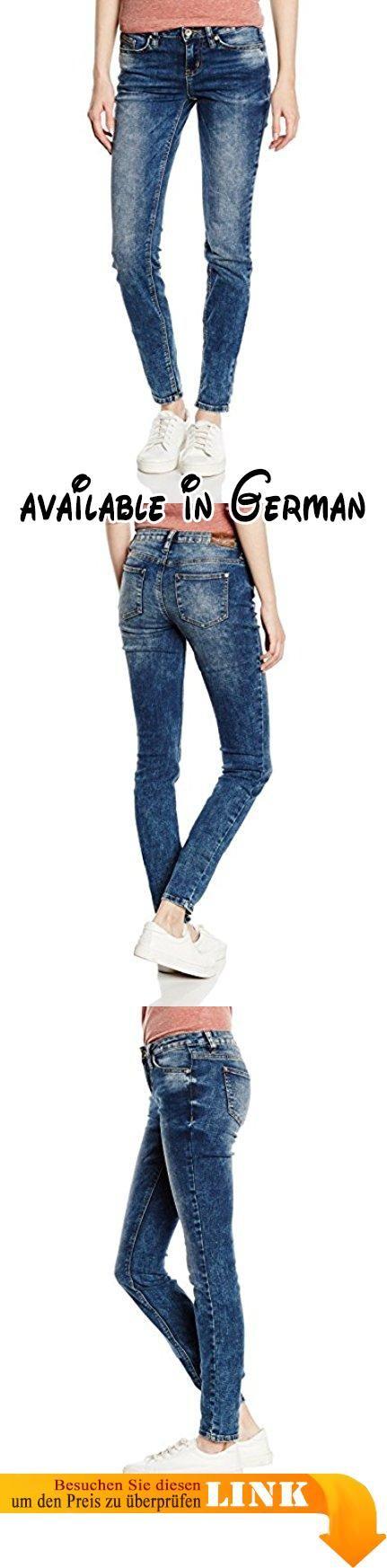 TOM TAILOR DENIM Damen Skinny Jeanshose Jeans JONA extra vintage blue/601, Gr. W27/L32 (Herstellergröße: 27), Blau (heavy bleached blue denim + tint 1192). TOM TAILOR DENIM Damen Jeanshose #Apparel #PANTS