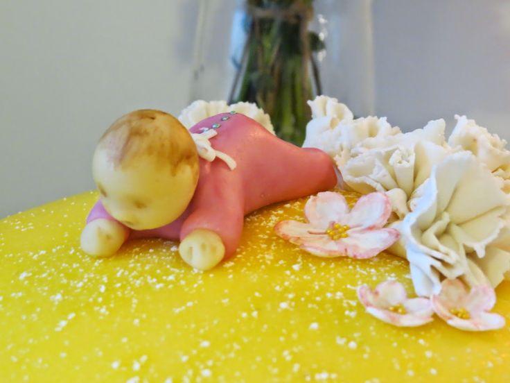 Baby cake baked by Sanna Oksa