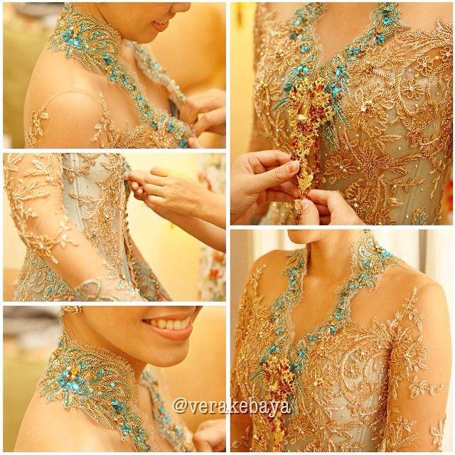 #kebaya #pengantin #repost #latepost #wedding #weddingdress #verakebaya ❤️❤️❤️ - verakebaya @ Instagram