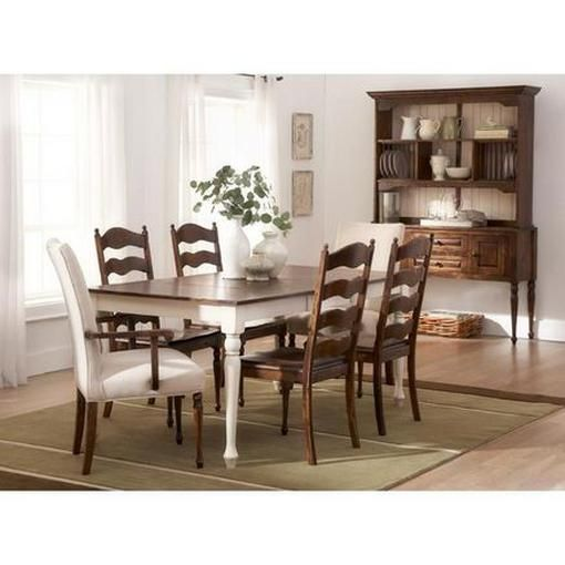 "Buy ""Birch Style #5005"" 5-Piece Dining Suite with Cassandra Wooden Chairs Online & Reviews"