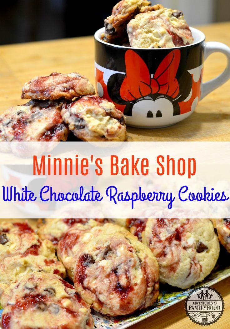 Les biscuits au chocolat blanc et à la framboise de Minnie's Bake Shop sont chargés …   – Desserts, muffins etc