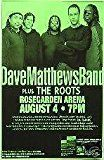 #1: Dave Matthews Band The Roots Concert Gig Poster #movers #shakers #amazon #entertainment #collectibles