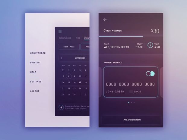 Inspirational UI Design 15 - UltraLinx