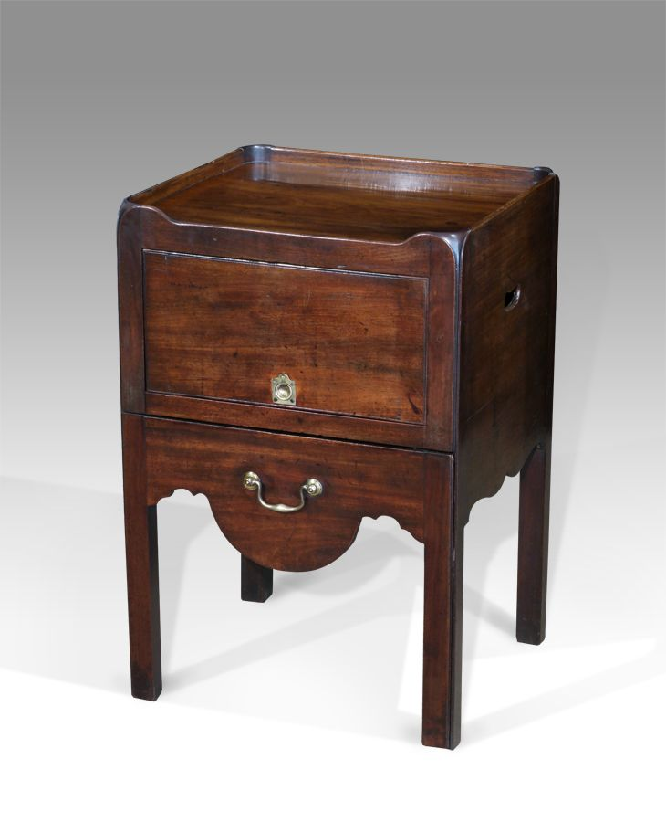 Georgian bedside cupboard 559 best Antique Tables