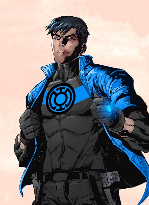 Jason as Blue Lantern