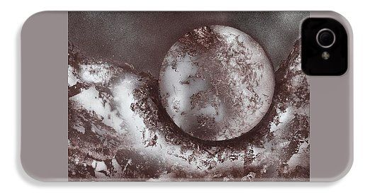 Marble Planet IPhone 4 / 4s Case Printed with Fine Art spray painting image Marble Planet by Nandor Molnar (When you visit the Shop, change the orientation, background color and image size as you wish)