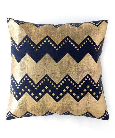 Love this Caravan Embellished Square Throw Pillow on #zulily! #zulilyfinds