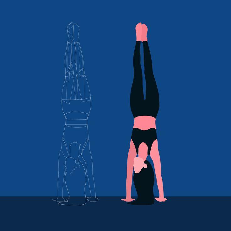 Work in progress! #illustration #steps #wip #redbubble #blue #yoga #girl #yogi @oozefina