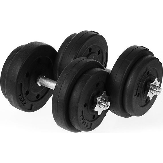 PowerTrain Home Gym Adjustable Dumbbell Set 20kg | Buy Dumbbells