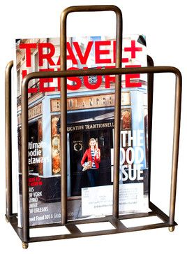 EXACTLY what I have been looking for. Super cool magazine rack. - BoBo Intriguing Objects