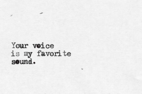 Like music…