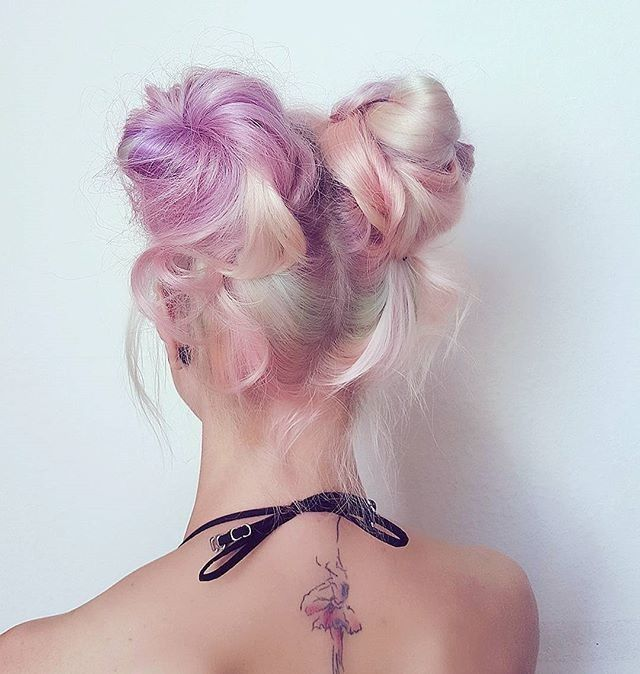 Show us your BUNS 🍭  #hairspiration via @scissorette