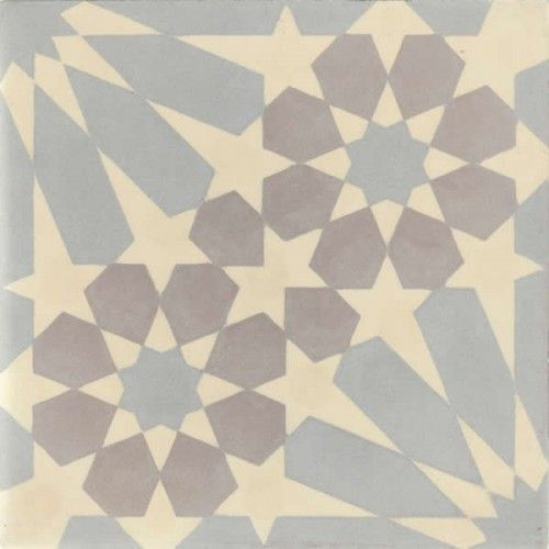 Moroccan Encaustic Cement Pattern Pre Sealed gr12