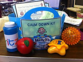 The Autism Adventures of Room 83: Best of 2014- Calm Down Kit