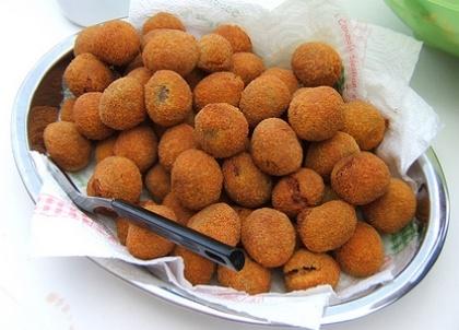 Le Olive Ascolane, #Marche - www.BedAndBreakfastItalia.com - #MarcheFood #ItalianFood #Food #Italy