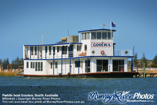 Paddle boat Goolwa, South Australia