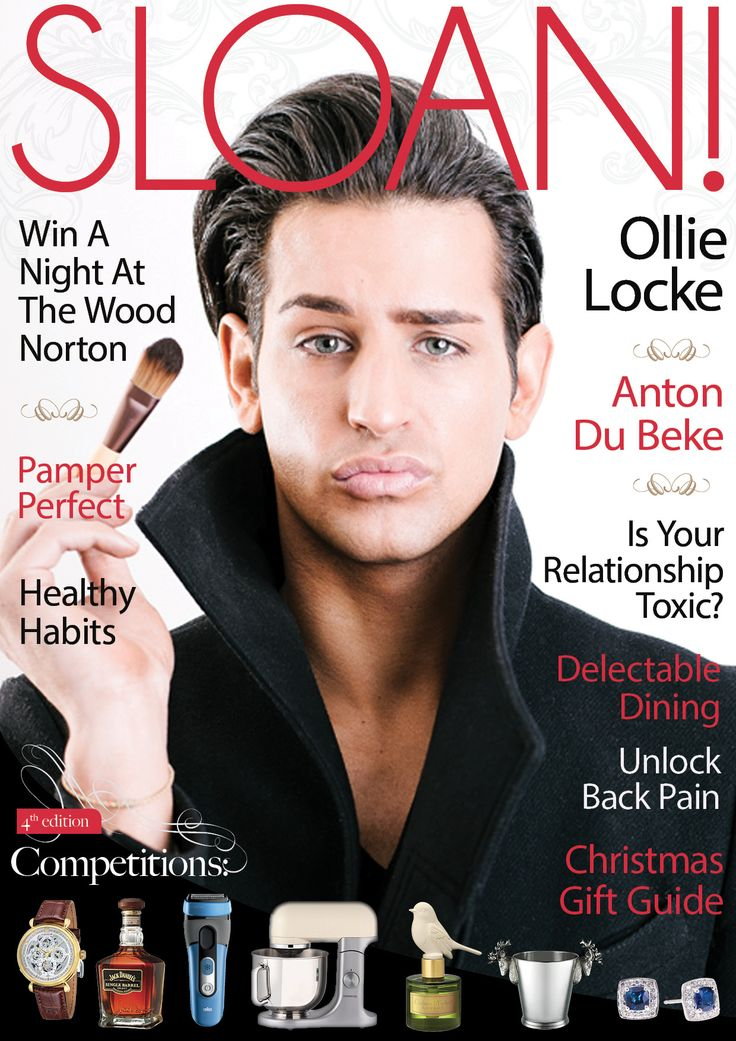 SLOAN! November 2015 with Ollie Locke interview and lots