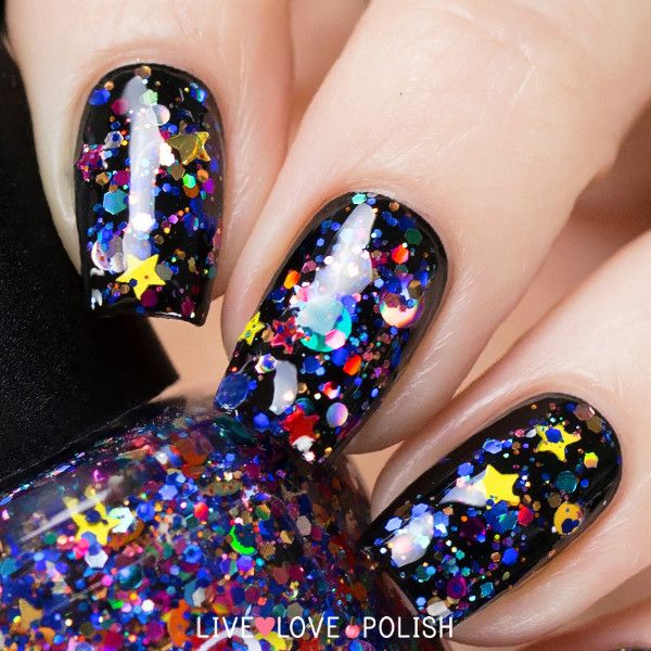 Galaxy Nail Polish Design: 25+ Best Ideas About Galaxy Hair On Pinterest