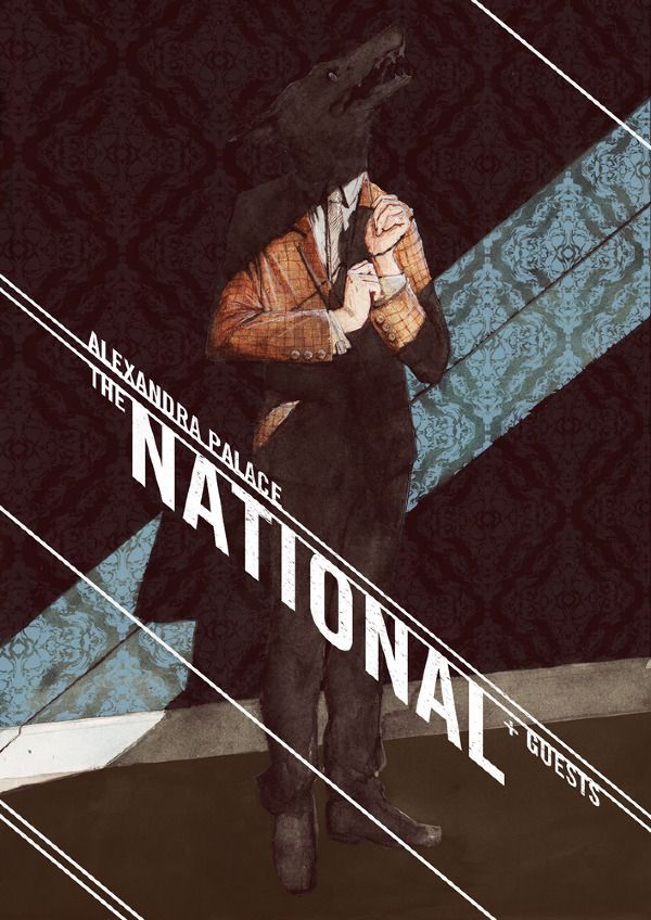 The National - gig poster - James Boswell
